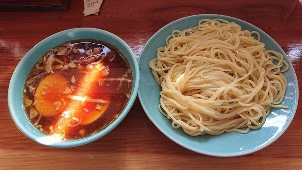 「つけそば(並) 700円 + チャーシュー丼ミニ 300円」@つけそば 麺吉の写真
