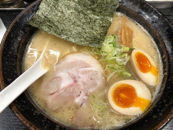 「味玉ラーメン」@らーめん 喜丸の写真