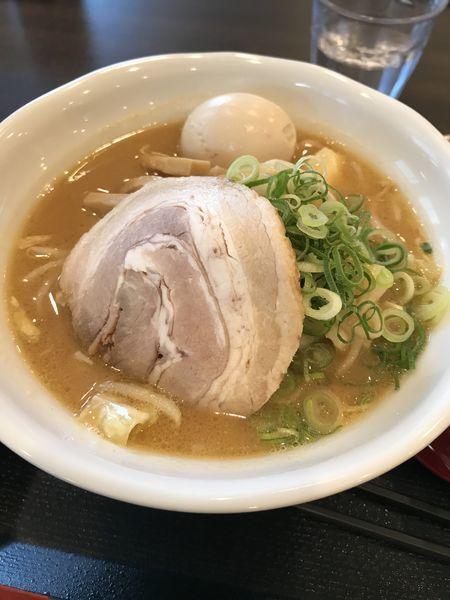 「野菜味噌ラーメン+ごはん」@てんがららーめん 鶴見店の写真