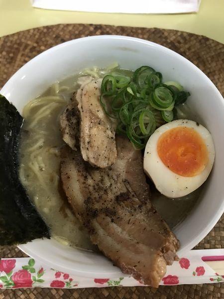 「鶏ポタそば+大盛(¥750+¥100)」@龍門瀑の写真
