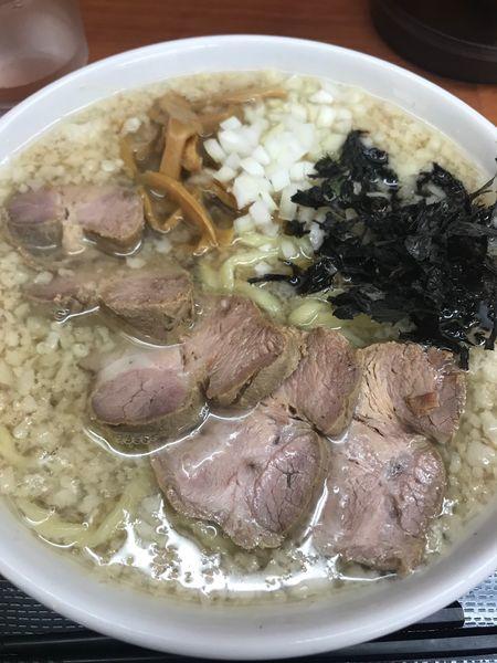 「背脂煮干(大盛)+背脂増し」@肉煮干中華そば 鈴木ラーメン店の写真