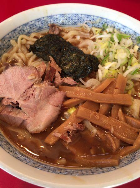「ラーメン800円」@自家製中華そば 勢得の写真