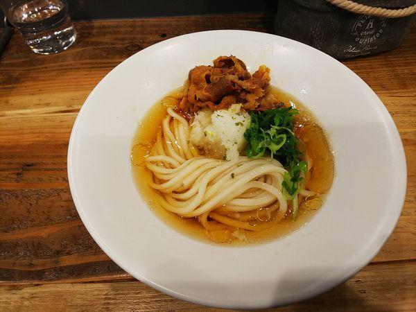 「肉煮干し」@麺屋 坂本01の写真