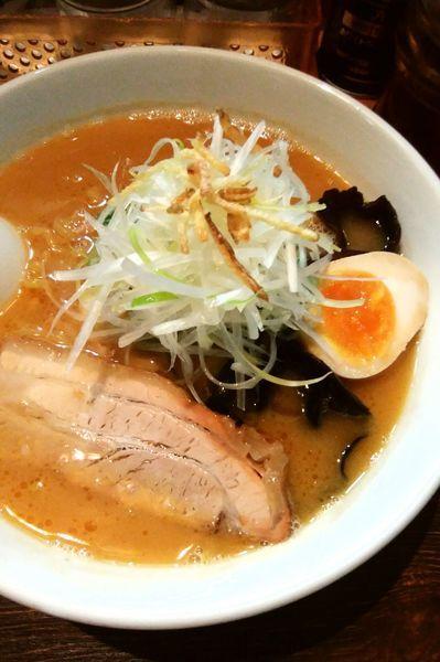 「濃厚味噌ラーメン」@麺屋 雪風 すすきの本店の写真