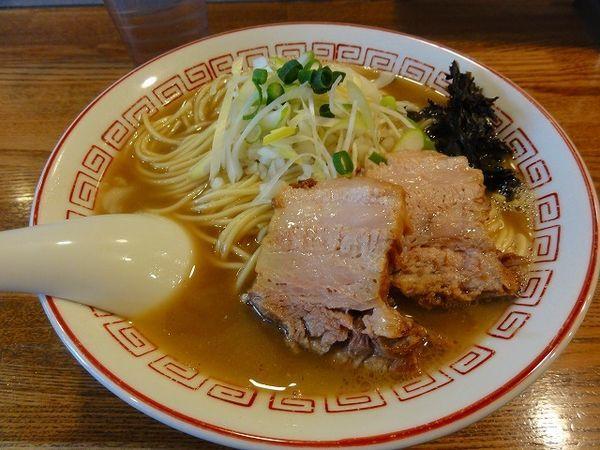 「煮干そば790円 無料大盛」@煮干中華そば専門 煮干丸の写真