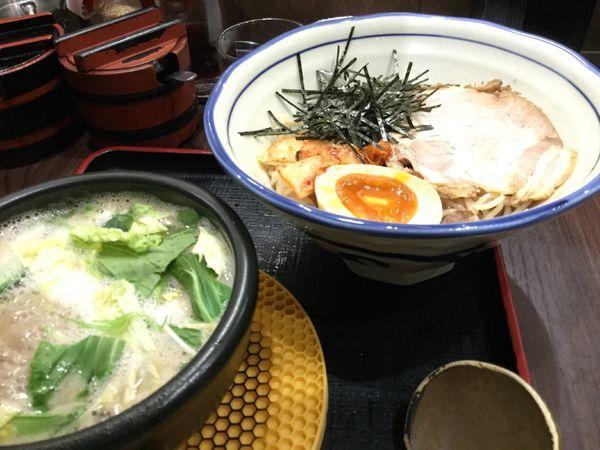 「塩つけ麺840円」@せんじゅ 麺処 猪太の写真
