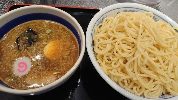 「もりそば特・餃子3個」@松戸富田麺絆の写真