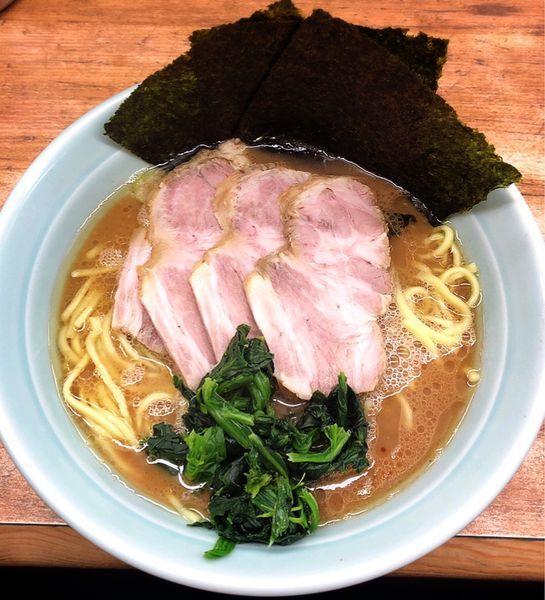「チャーシュー麺(麺硬め.味濃いめ)」@横浜ラーメン 武蔵家 志木店の写真