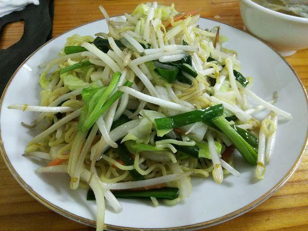 「上海焼きそば ※スープ付き ※クーポンで500円」@台湾料理 紫森 桔梗店の写真