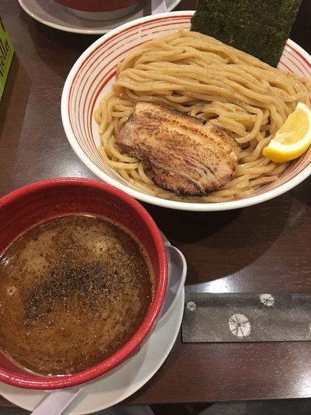 「香味焙煎麺のつけ麺」@山麺の写真