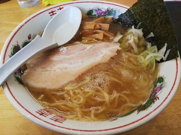 「【限定】ややこってり中華そば ※クーポンで500円」@らぁめん 鶏支那屋の写真