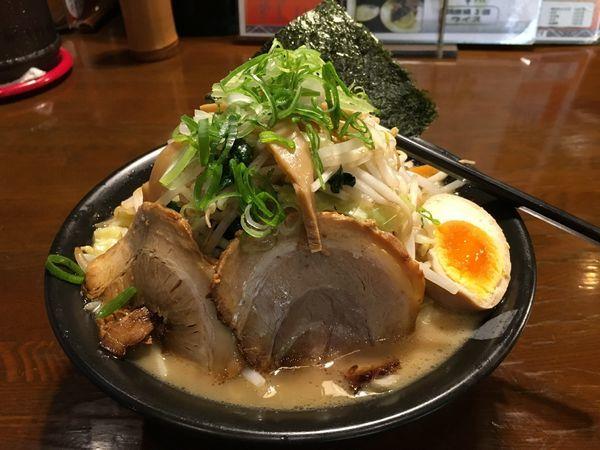 「白湯野菜ラーメン」@和風薬膳らーめん 貴楽の写真