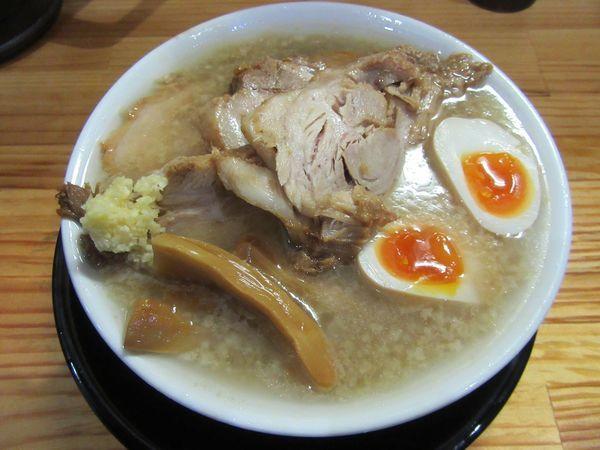 「細麺チャーシュー(1100円)」@麺屋 とん嬉の写真