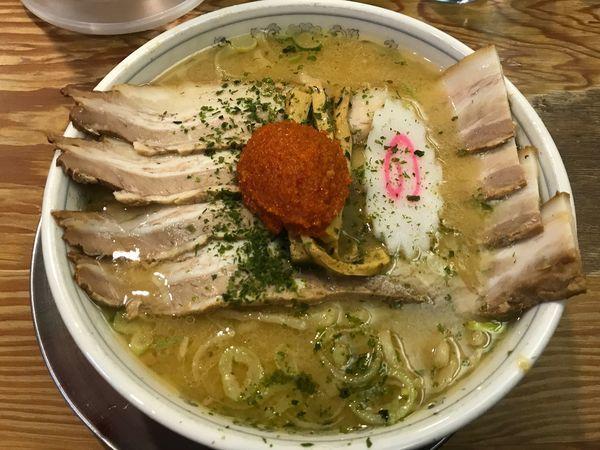 「赤湯からみそチャーシューメン ¥1,180」@龍上海 新横浜ラーメン博物館店の写真