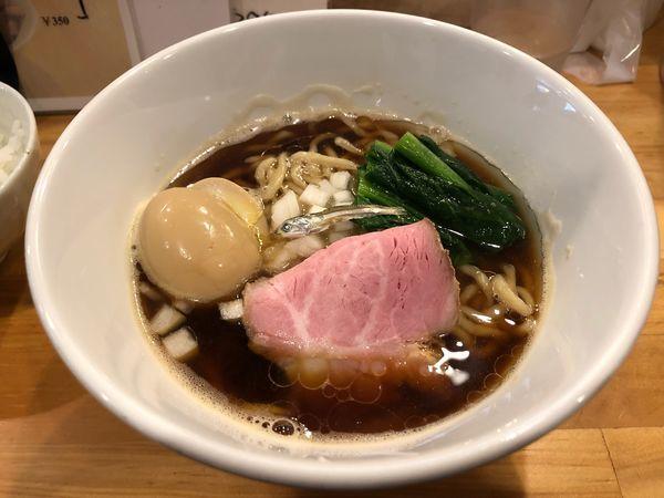 「煮干し一直線」@ふく流らーめん 轍 本町本店の写真