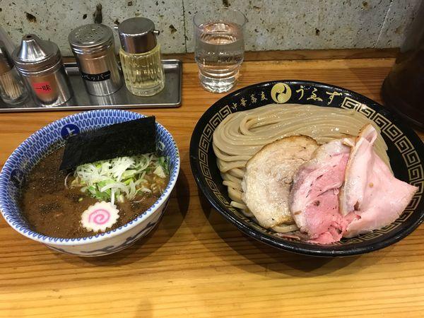 「つけめん(特)1000円」@中華蕎麦うゑずの写真