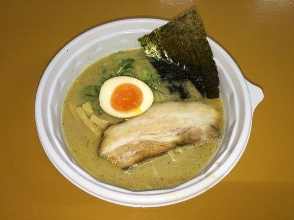 「頑固麺飯魂 気むずかし家 信州鶏白湯ラーメン(長野)」@シタマチ.ラーメンフェスティバルの写真