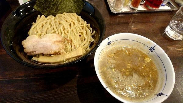 「つけ麺 760円」@麺屋 亀城の写真