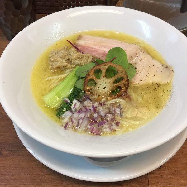 「鶏蜊soba+和え玉」@kingyo noodlesの写真