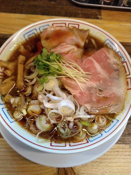 「サバ醤油そば 半やきめしセット 1000円」@サバ6製麺所 成城学園前店の写真