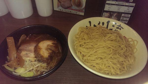 「つけ麺、特盛」@つけ麺 小川流 多摩貝取店の写真