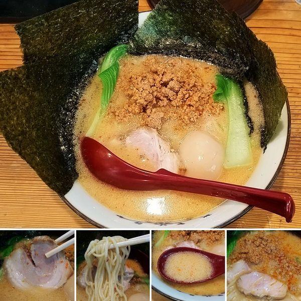 「景虎担々麺 790円」@景虎製麺所の写真