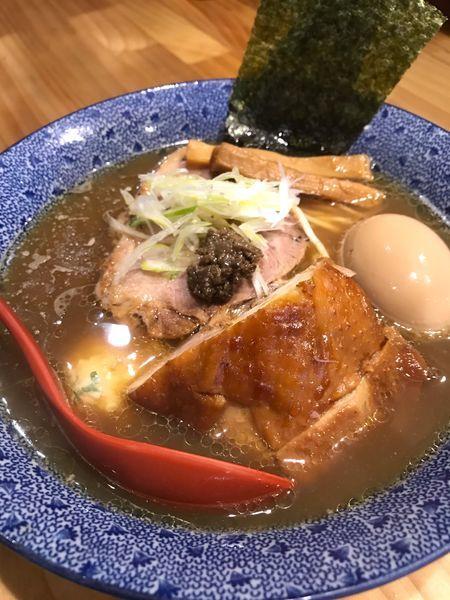 「特製鷄そば」@中華蕎麦 つけ麺 五味五香の写真