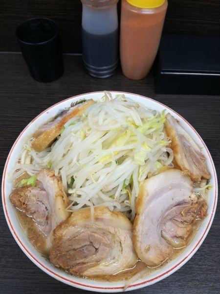 「小豚ラーメン:850円」@ラーメン二郎 川越店の写真