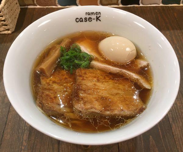 「特製らぁめん(醤油)」@ramen case-Kの写真