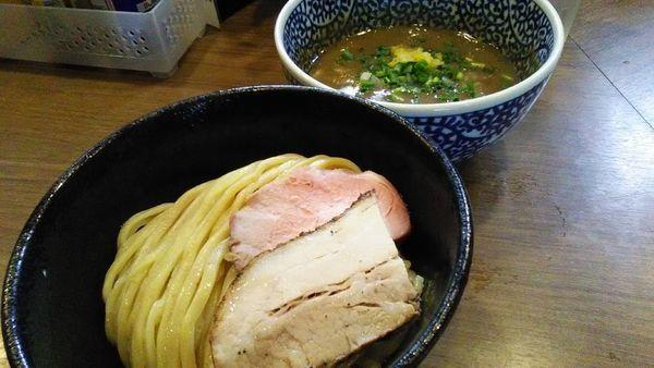 「極濃煮干つけ麺」@煮干しつけ麺 宮元の写真