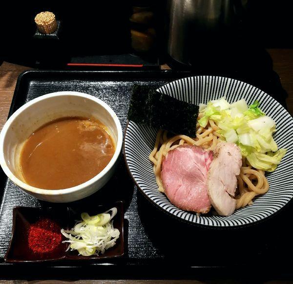 「つけ麺、白菜増し」@長男、もんたいちおの写真