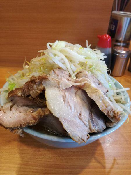 「小らーめん+豚:930円」@ラーメン二郎 八王子野猿街道店2の写真