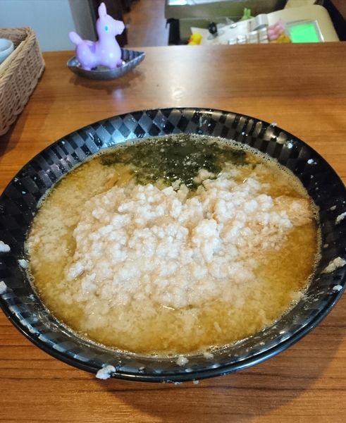 「ツバメサンジョー 大盛 大油」@麺&cafe Coi.Coi.の写真