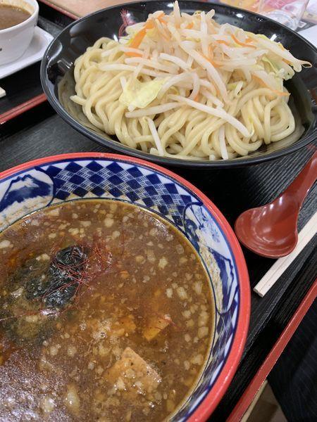 「味噌つけ麺」@つけ麺専門店 三田製麺所 イオンモールナゴヤドーム前店の写真