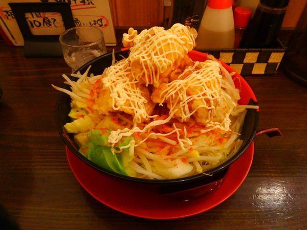 「鶏唐ゴリラー麺」@ラッキー食堂まとや 千曲店の写真