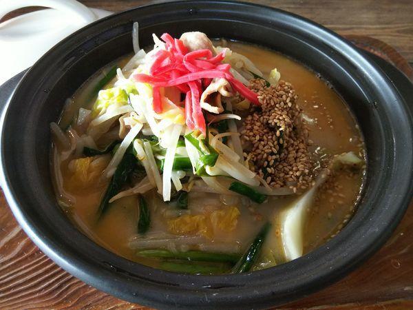 「麺ドロントット -千代幻豚モツらーめん-」@Cafe&Noodle あんじゅ+2の写真