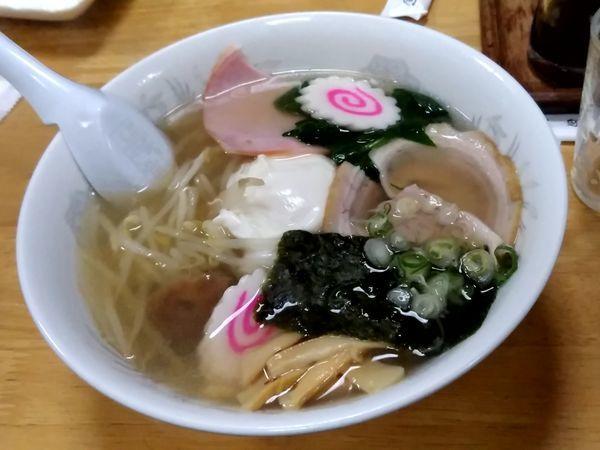 「五目そば(並盛)750円」@川崎屋食堂の写真