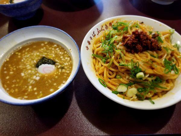 「辛つけ麺」@中華そば ふくもりの写真