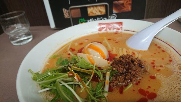 「味噌タンタン麺」@ラーメン ばんだい 嵐山店の写真