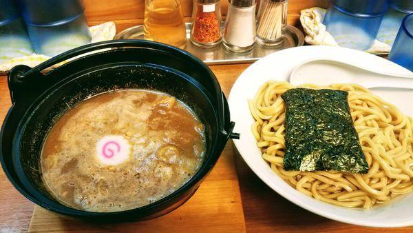 「濃厚つけ麺」@つけめん処 あすなろ食堂の写真