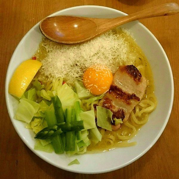 「トリポターナ」@鶏ポタラーメン THANK お茶の水の写真
