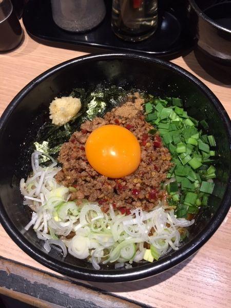 「台湾まぜそば 830円」@麺屋 まぜはるの写真