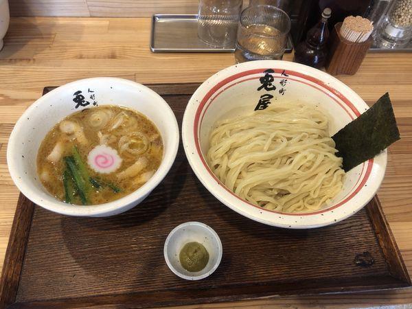 「つけ麺 並 +柚子胡椒」@人形町 兎屋の写真