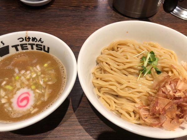 「【限定】梅鰹つけ麺910円」@つけめんTETSU 壱の木戸 水戸店の写真