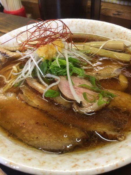 「鴨醤油そば」@麺屋 裕の写真