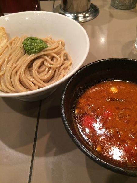 「海老トマトつけ麺950円」@つけ麺 五ノ神製作所の写真