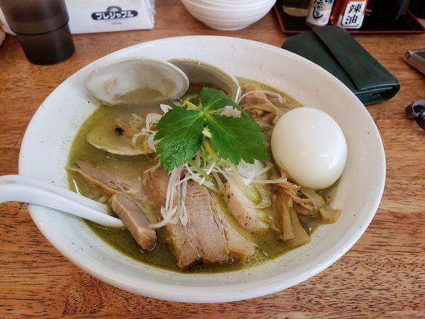 「特製貝塩拉麺」@麺屋 心羽の写真