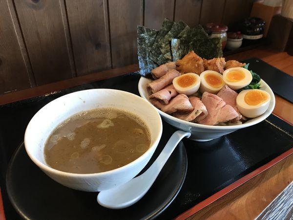 「濃厚煮干つけ麺」@麺創 なな家の写真