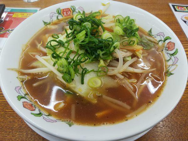 「【限定】野菜煮込みラーメン」@餃子の王将 松本島内店の写真