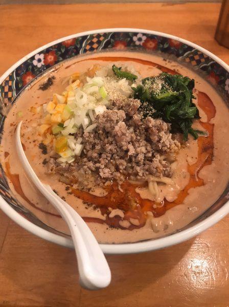 「極濃四川担々麺」@極濃湯麺 フタツメ 貝沢店の写真